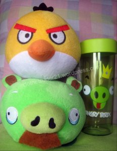 angry birds stuff